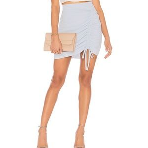 Joa ruched front skirt